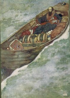 Prospero: A rotten carcass of a butt, not rigg´d, Nor tackle, sail, nor mast - Shakespear's Comedy of The Tempest, 1908