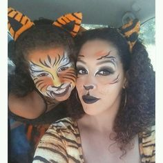 mommy and me cat costume