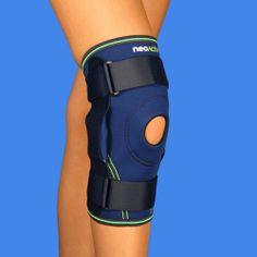 RD74A NeoActiv Rodillera estabilizadora con articulación monocéntrica regulable indicada para el dolor articular, bursitis rotuliana, tendinitis, lesiones rotulianas, prevención de luxaciones, rehabilitación postraumática y post-operatoria, lesiones de ligamentos laterales de rodilla, inestabilidad capsulo-ligamentosa. #salud #deporte #ortopedia