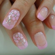 Pretty in pink fingertips