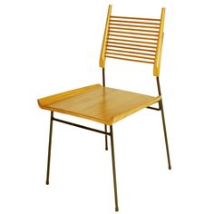 Lost City Arts Zither Chair / Paul McCobb inspired   1stdibs.com
