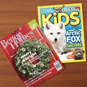 Ah!! 85% off some fabulous magazine subscriptions including Better homes and gardens, clean eating, family fun and more!! Great gifts!