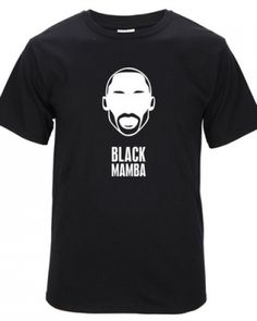 Basketball NBA lakers Black Mamba Kobe Bryant t shirt cotton