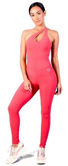 Workout Jumpsuit, Sexy Outfits, Fashion Outfits, Original Copy, Fitted Jumpsuit, Coral, Bodysuit, Active Wear For Women, Women's Activewear