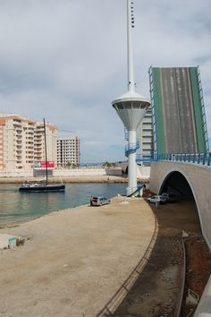 Puente del Estacio. La Manga del Mar Menor.
