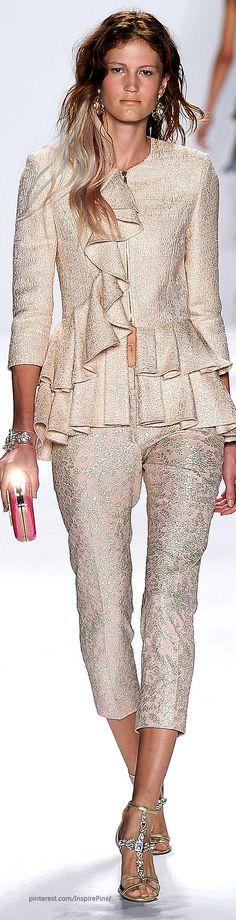 Spring 2015 Ready-to-Wear Badgley Mischka