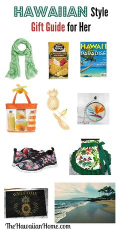 Hawaiian Style Gifts for Her - The Hawaiian Home