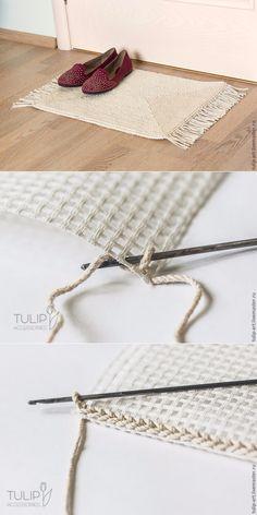 Carpet Knitting Crochet Canvas...♥ ♥