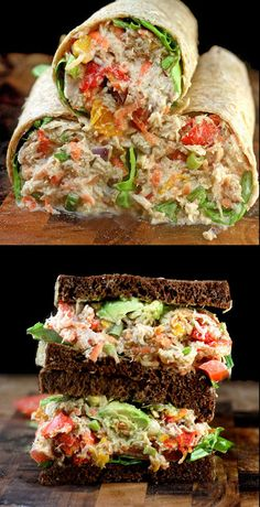 Chicken Salad w/Garlic Greek Yogurt Ranch