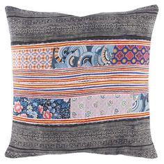 John Robshaw Textiles - Thai Hilltribe 667 - Souk Pillows - souk