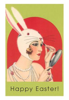 In your Easter bonnet, with long, white ears upon it......