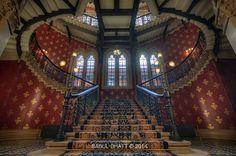 Grand Staircase | St. Pancras Renaissance Hotel