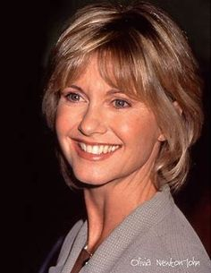 Image result for Olivia Newton-John 1999 Olivia Newton Jones, Aging Gracefully, Eclectic Style, Famous Faces, Shoulder Length, Celebrity Photos, Role Models, Hair Cuts, Hollywood