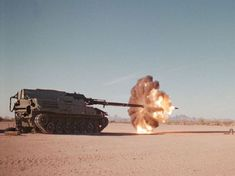 freeze frame of tank firing main cannon 02 - Things You Won't See ...