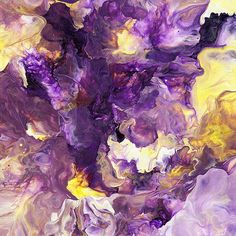 Portrait of a Childproof Man { Michael Cina } Purple Yellow, Shades Of Purple, Purple Gold, Purple Iris, Purple Haze, Purple Painting, Flamingo Art, All Things Purple, Arte Floral