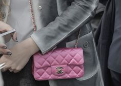 Chanel Extra Mini Classic Flap Bag in Pink