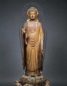 阿弥陀如来立像 快慶 東大寺俊乗堂 1203