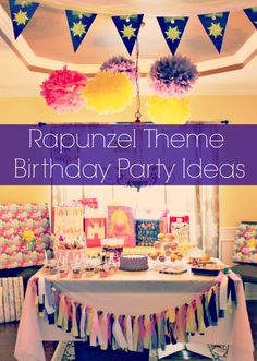 Rapunzel / Tangled party ideas
