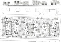Zita Cotti Architekten / Wohnüberbauung Am Katzenbach Zürich Robin, Floor Plans, Diagram, How To Plan, Architecture, Image, Site Manager, New Construction, Arquitetura