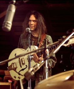 Neil Young - looking slightly insane