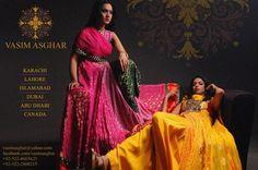 Vasim Asghar Bridal Wear Collection 2013 For Women