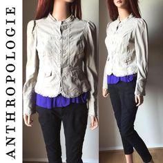 Sale! Anthropologie Idra Corduroy Jacket