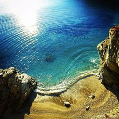 Beach in Folegandros