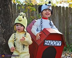 Snoopy and Woodstock - Halloween Costume Contest