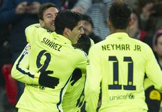 Bravo: What can a goalkeeper do against Messi, Neymar and Suarez?