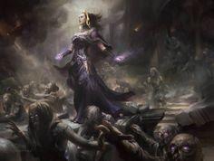 Cynthia Sheppard Illustration — Dark Salvation