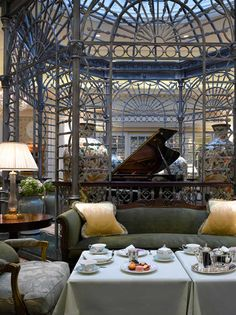 High tea at The Savoy, London