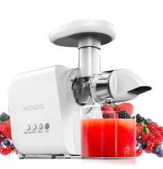 Mooka Slow Masticating Juicer Extractor Cold Press Juicer Fruits and Vegetables Healthy Juices, Healthy Nutrition, Best Masticating Juicer, High Juice, Best Juicer Machine, Specialty Appliances, Small Appliances, Kitchen Appliances
