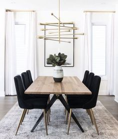 Dining Chair Stunning Dining Room Inspo - The Marble Home Room # . - Dining Chair Stunning Dining Room Inspo – The Marble Home room - Decor, Dining Room Inspiration, Small Dining, Interior, Dining Room Small, Home Decor, House Interior, Modern Dining Room, Apartment Decor