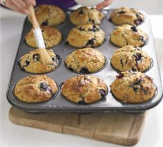 We've created a deliciously light version of this classic muffin that contains virtually no saturated fat