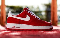 "Nike Air Force 1 Low ""Gym Red"""