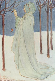 Christina Rossetti, Poems (1910) Illustrations by Florence Harrison