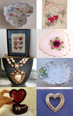 Hearts and Hugs 2! TeamVintageUSA by Pam Maggio on Etsy--Pinned with TreasuryPin.com