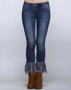 b37b3733c88 12 Best How to Style Fringe Jeans images