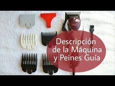 Máquina de Cortar Pelo Wahl: Peines Guía, partes y Advertencias - YouTube