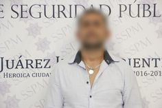 <p>Juárez, Chih.- Elementos de la Policía Municipal realizaron el arresto de Rigoberto Z. C., por su presunta responsabilidad en la comisión