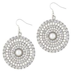 #engagementparty Aldo Gandez Earrings in White Nubuk. $13. Big Day Bling. @ALDO Shoes #ALDOpinthetrends Playful Glam