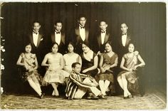 group portrait featuring Elton Juan, the Filipino Outcast. Philippines People, Philippines Cities, Visit Philippines, Philippines Culture, Philippine Fashion, Filipino Fashion, Tuxedo For Men, Flappers, Debutante