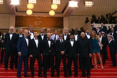Cast of The Expendables 3 - Red carpet © AFP / A. Pizzoli