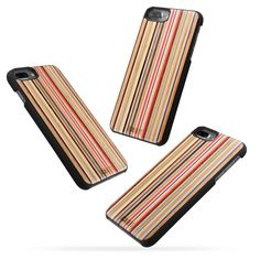 iCASEIT iPhone Xs/X Wood Case Full Protection TPU Bumper Cover with Premium Finish [Compatible with Wireless Charger] Slim & Lightweight Snap-on Protection for iPhone Xs/X - Rainbow Iphone 8 Plus, Iphone 7, Iphone Cases, Cell Phone Accessories, Wood, Handmade, Rainbow, Rain Bow, Hand Made