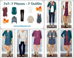 outfit post: fall 7x7 (7 pieces = 7 outfits)