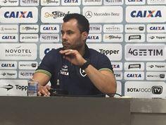 """BotafogoDePrimeira: Jair festeja atuação e atenção ao Brasileiro: """"Cad..."""