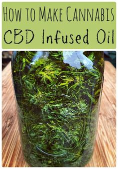 CBD oil is a healing topical home remedy with many all natural and medicinal uses! Learn how to make cannabis CBD infused oil at home with this easy recipe for beginning herbalists. CBD oil has many benefits and medicinal uses, the most popular being for Marijuana Recipes, Cannabis Edibles, Cannabis Oil, Weed Recipes, Marijuana Facts, Marijuana Butter, Cannabis Plant, Recipies, Cooking Recipes