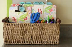 How to End Paper Clutter in the Kitchen - Creative Organizing