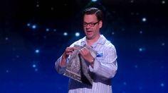 Derek Hughes: Comedic Magician Performs in His Pajamas - America's Got Talent 2015 | Voonathaa