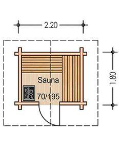 Floor plan S 1 Diy Sauna, Sauna Ideas, Sauna Steam Room, Sauna Room, Saunas, Cabana, Building A Sauna, Mini Gym, Sauna House